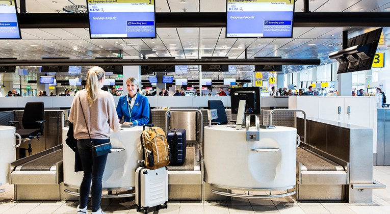 schiphol check in