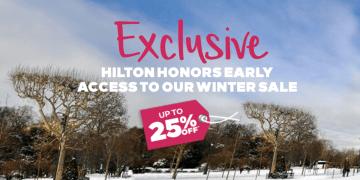 hilton winter sale