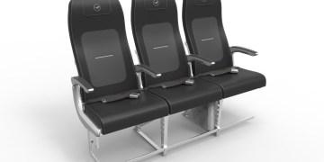 Nieuwe stoelontwerpen (Bron: Lufthansa)