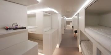 Airbus & Zodiac werken aan slaapkamer in vrachtruim