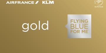 Flying Blue Gold card