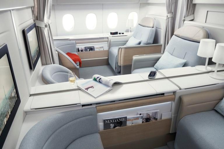 De exclusieve La Première cabine (Bron: Air France)