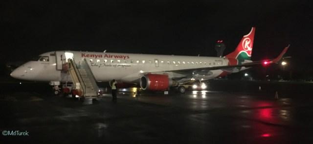 Review Kenya Airways Business Class en Economy Class MBA naar NBO