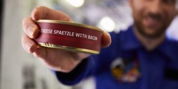 Lufthansa serveert tijdelijk voedsel uit de ruimte