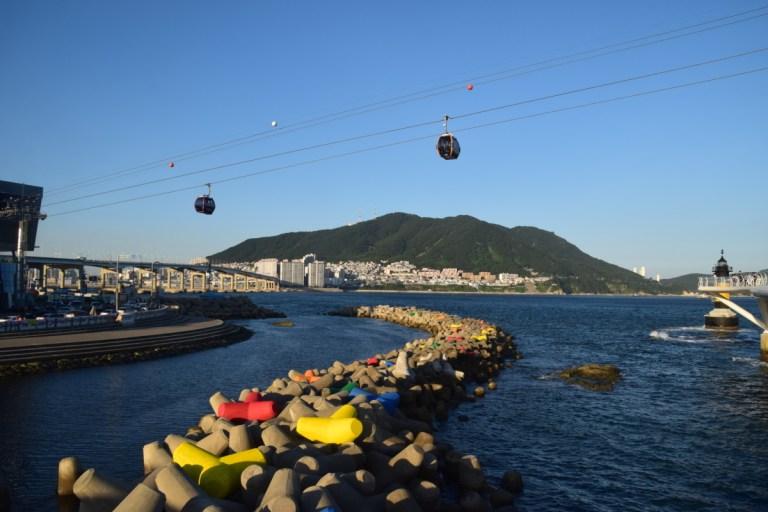 Songdo Air Cruise, Busan, Zuid-Korea