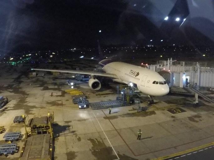 a330, thai airways, bangkok, hanoi
