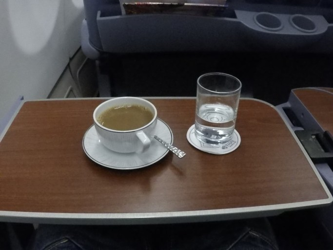 koffie, Thai airways, business class, a330