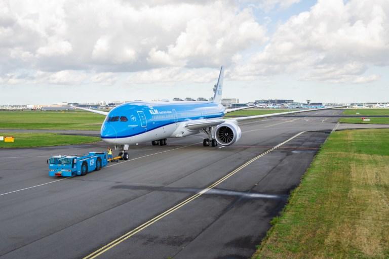 De Dreamliner van KLM (Bron: KLM)