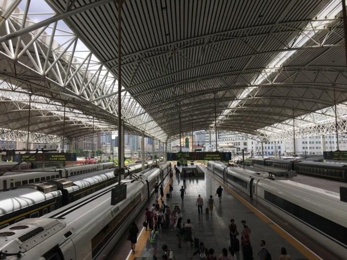 Station van Suzhou