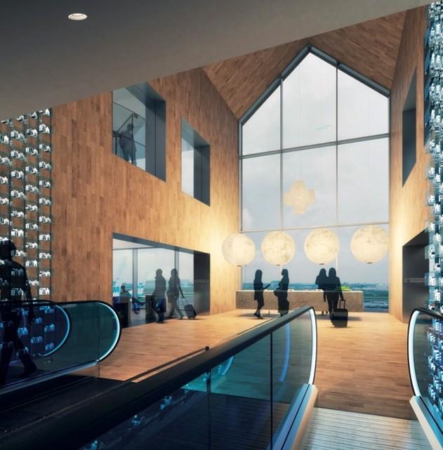 UPDATE: Verbouwing KLM Crown Lounge 52 vordert vlot, Blue by KLM