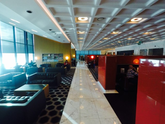 Qantas, first class, lounge, melbourne