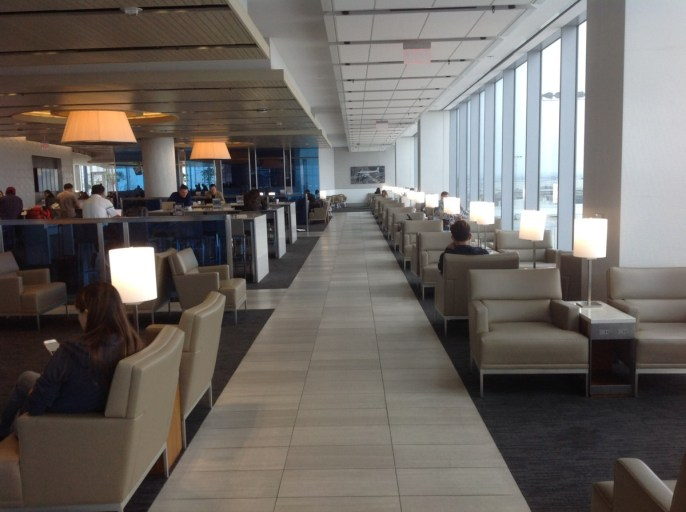 united airlines, united club, Los Angeles, review