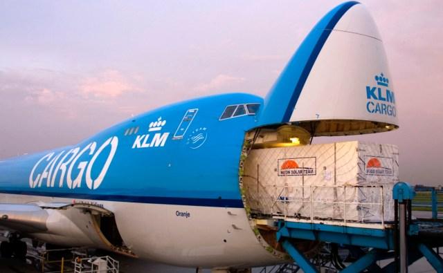 Boeing 747-400 van KLM Cargo