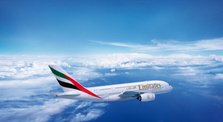 De A380 van Emirates (Bron: Emirates)