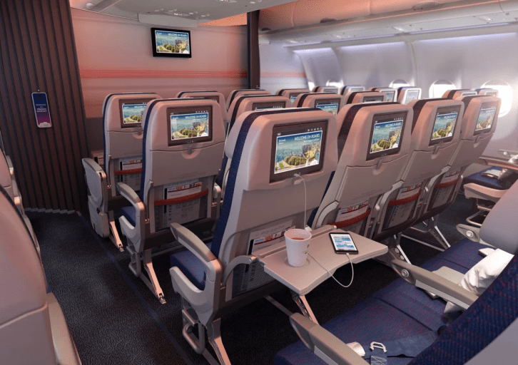 Brussels Airlines nieuwe economy class