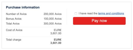 British Airways buy Avios 50% bonus
