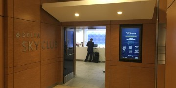 Review - Delta Sky Club Lounge SeaTac Airport South Satelitte