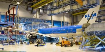 KLM onderhoud maintenance