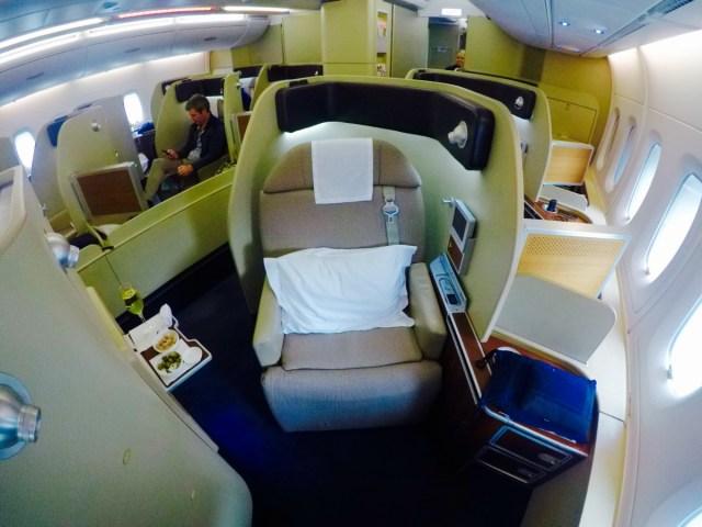 Qantas, a380, first class, review