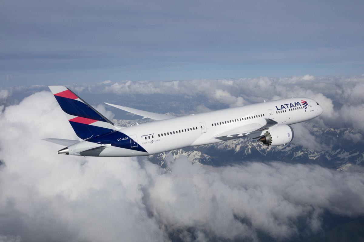 Boeing 787-9 Dreamliner van LATAM (Bron: LATAM)