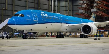 Aankomst KLM Boeing 787-10 mogelijk vertraagd