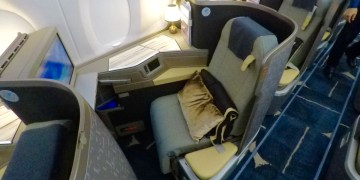 china airlines, a350, business class, review