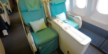 korean air, a330, business class, review