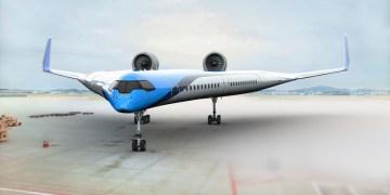 Flying-V KLM TU Delft