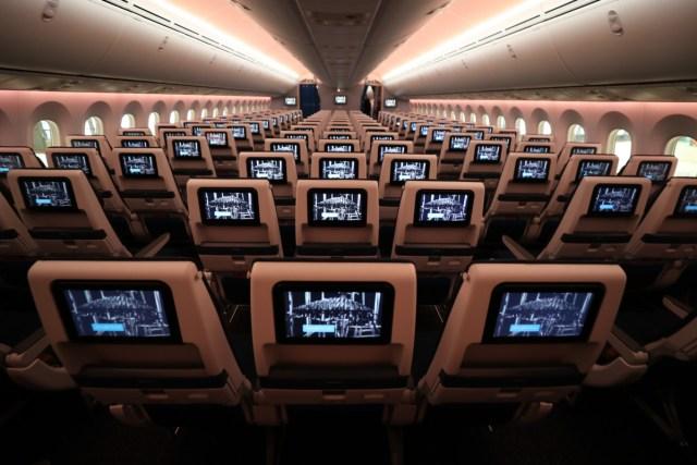 KLM Boeing 787-10 Dreamliner Economy Class
