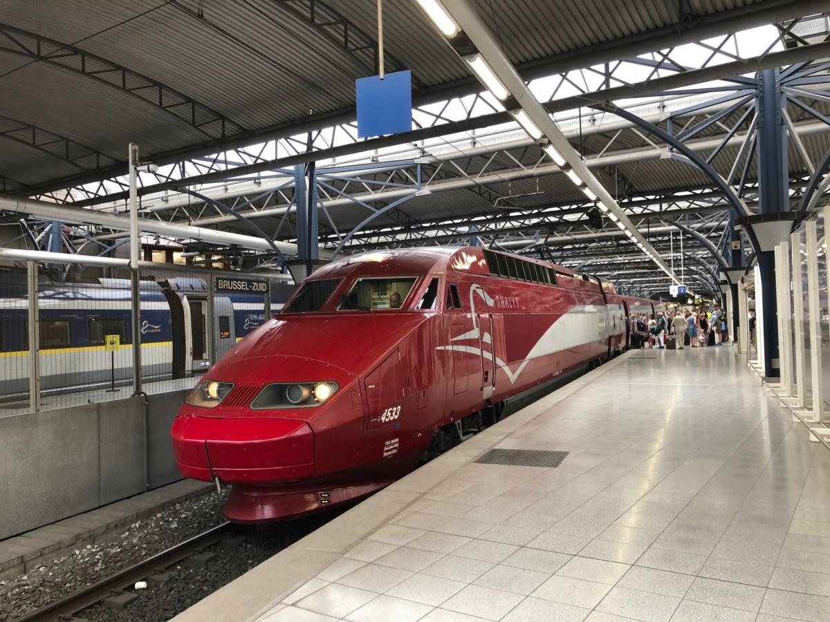 thalys, Delta, samenwerking, Air+Rail
