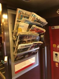 Kranten en tijdschriften.
