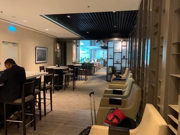 Review: dnata lounge Singapore Changi Terminal 1