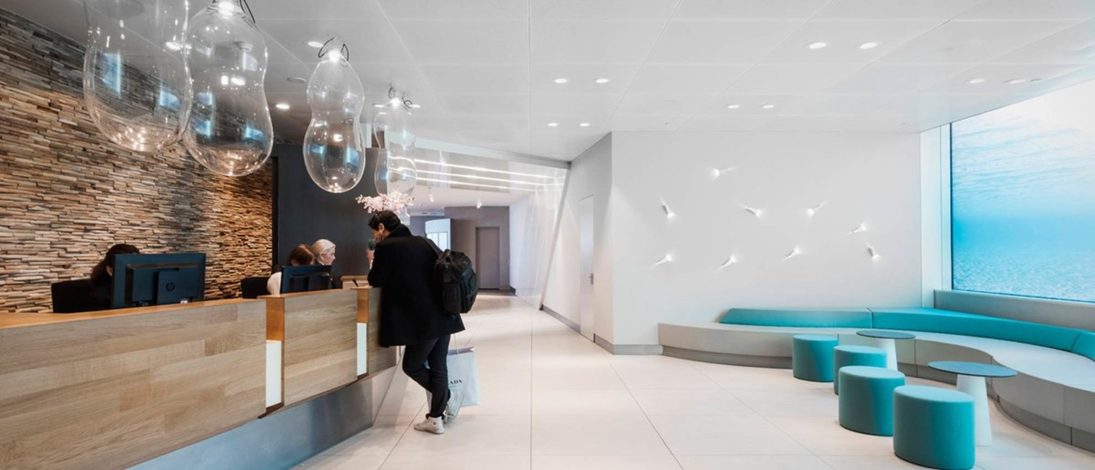 De Aspire Lounge 41 op Schiphol (Bron: Executive Lounges)