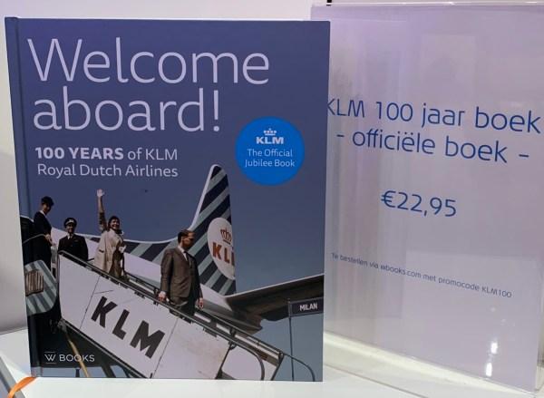 Boek 'Een eeuw KLM' met korting verkrijgbaar.