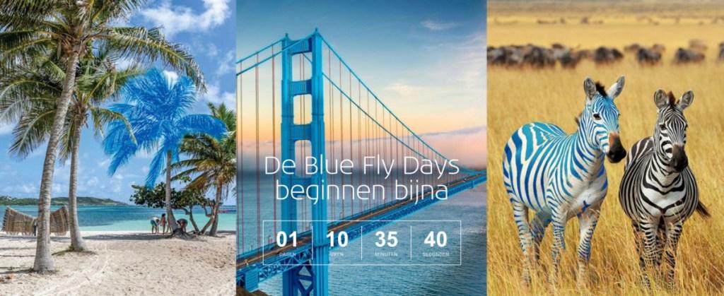 KLM Blue Fly Days (Bron: KLM)