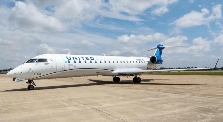 United CRJ-550 (Bron: United)