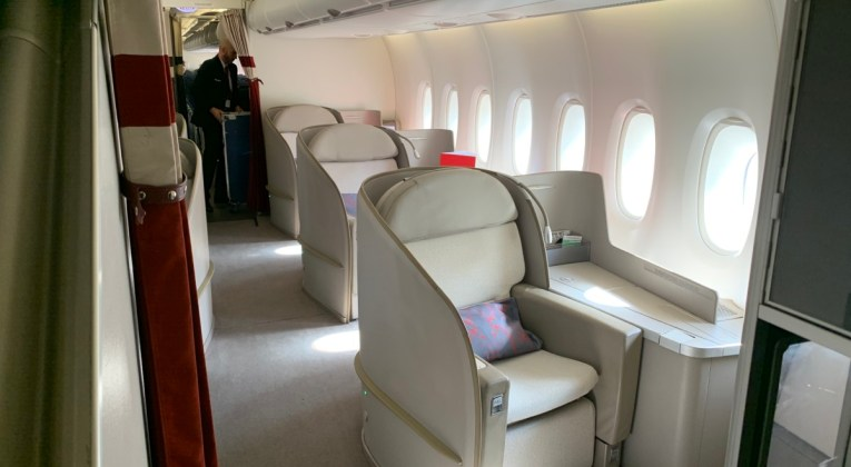 Review Air France A380 Economy Upper deck - Paris CDG naar Los Angeles