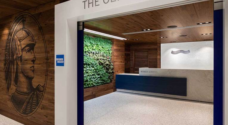 American Express opent grootste Centurion Lounge in Los Angeles