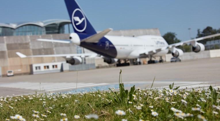 Boeing 747-400 van Lufthansa in de nieuwste livery (Bron: Lufthansa Group)