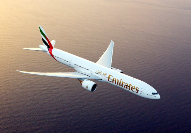 Emirates Boeing 777-300ER (Bron: Emirates)