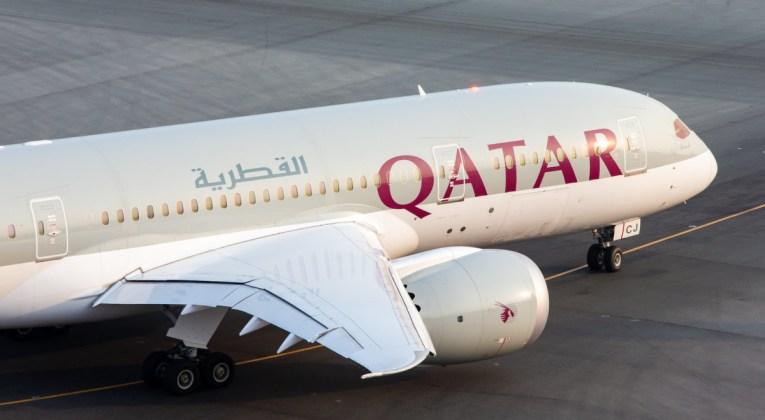 Qatar Airways Aircraft taxied op de luchthaven (Bron: Qatar Airways)
