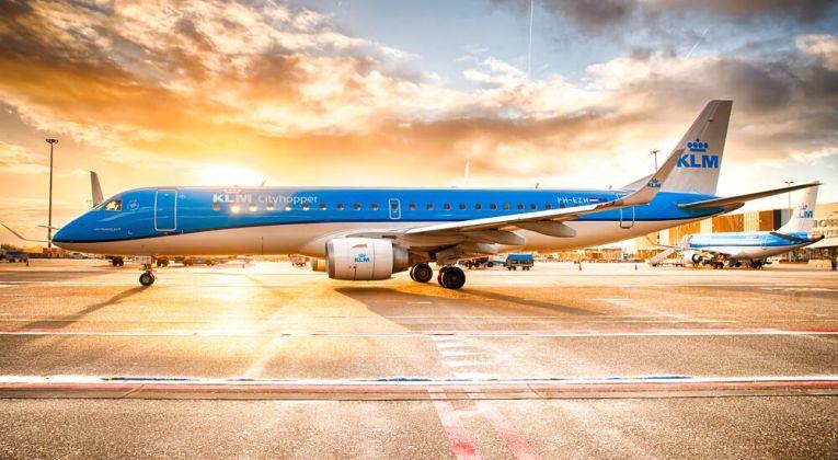 Embraer E190 van KLM Cityhopper (Bron: KLM)