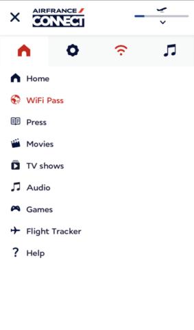 Zo werkt Wifi bij Air France, ook in Europa