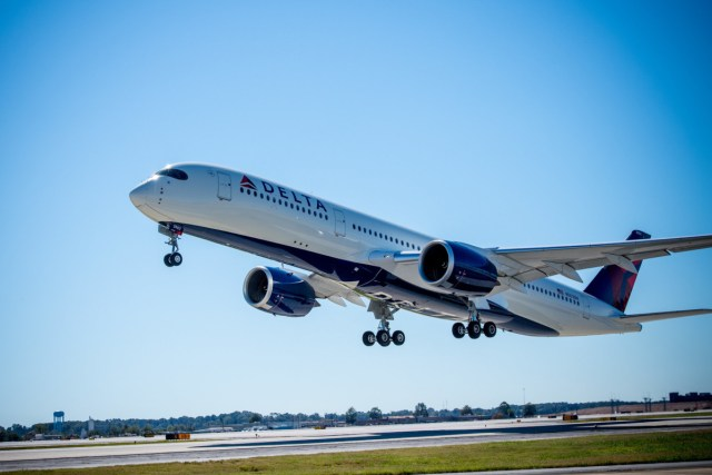 Delta Airbus A350 (Bron: Delta)