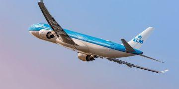 KLM Airbus A330-300 in de nieuwe livery (Bron: KLM)