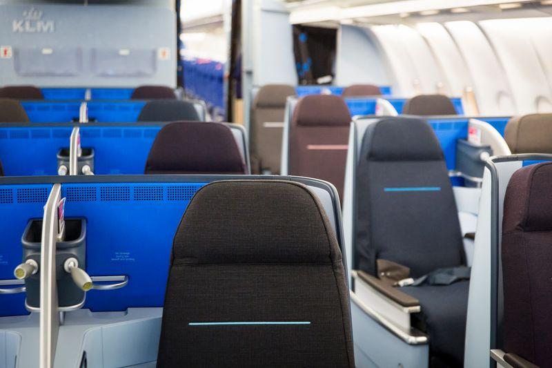 KLM World Business Class A330 Austin