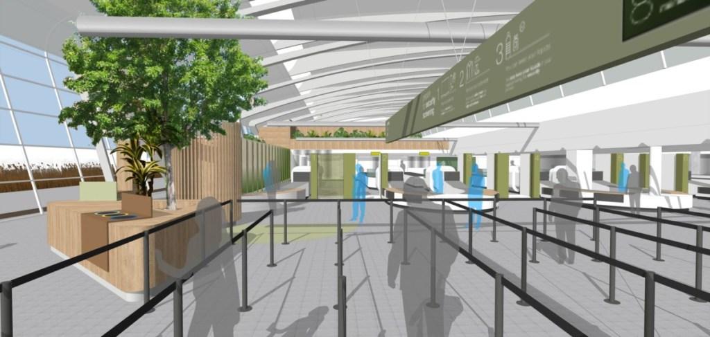 Eindhoven Airport securitygebied