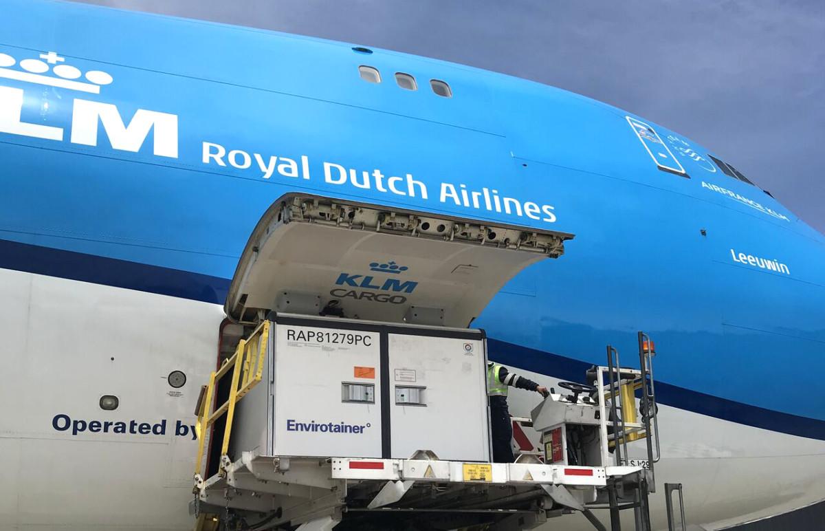 Air France KLM Martinair Cargo Boeing 747 toestel (Bron: KLM)