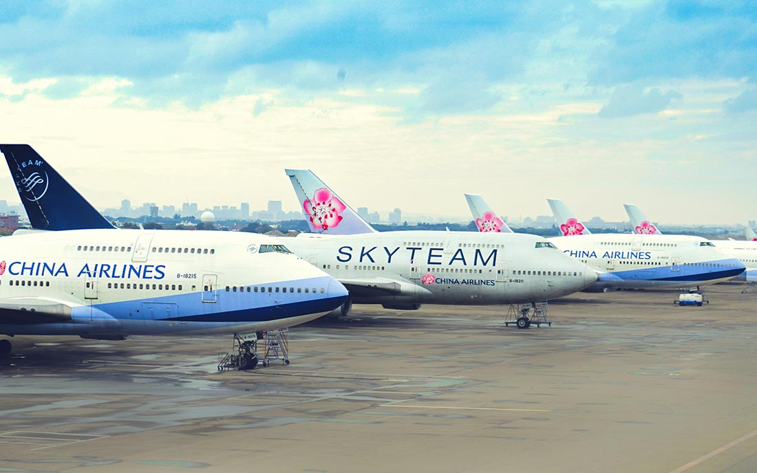 Boeing 747 van China Airlines (Bron: China Airlines)