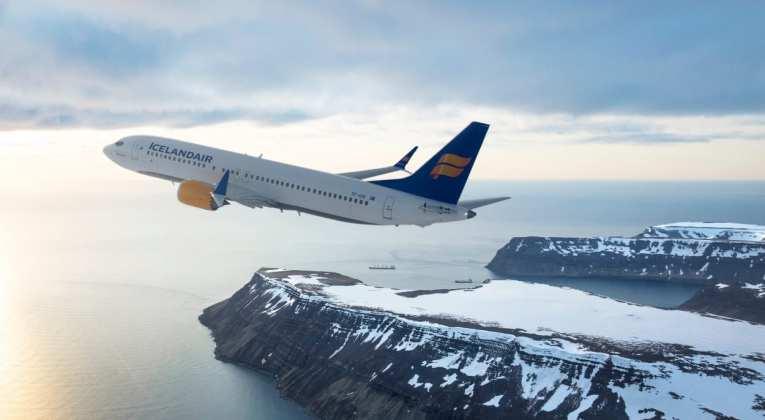 Boeing 737 MAX van Icelandair (Bron: Icelandair)